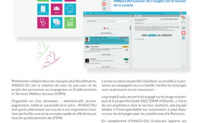 Medical-social IT IMAGO DU, ergonomic user file: in 2020, thirty new associations equipped!